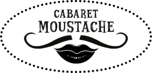 logo cabaret moustache