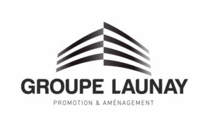 Logo Groupe LAUNAY - Noir tramé - Fond blanc - CMJN